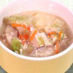 むちゃン酒(甘酒)スープやさしい甘味が加わります