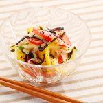 塩っぺゆかりのカラフル夏野菜マリネ