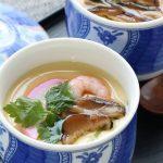 「うま味しいたけ」の茶碗蒸し